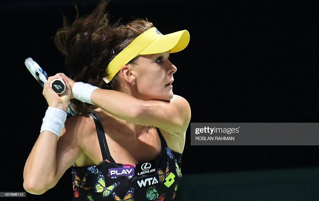TENNIS-WTA-SIN : News Photo