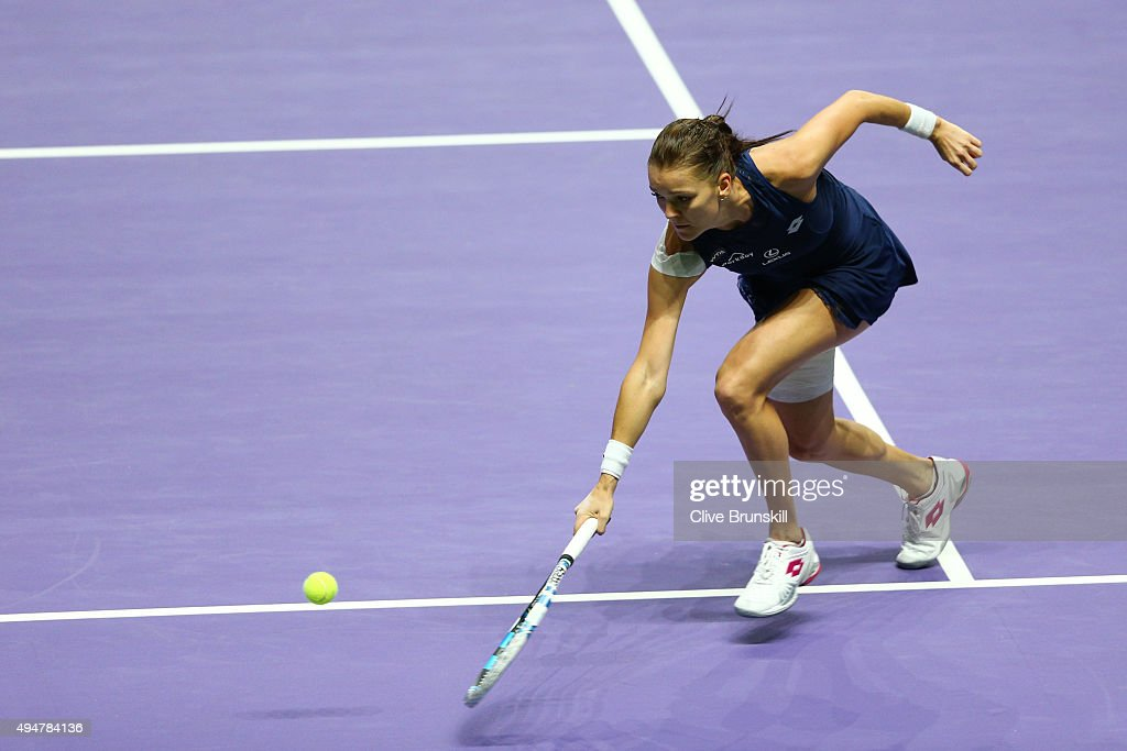 BNP Paribas WTA Finals: Singapore 2015 - Day Five : News Photo