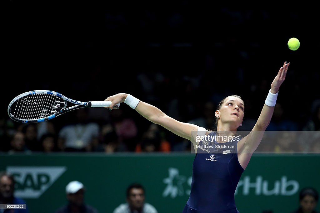 BNP Paribas WTA Finals: Singapore 2015 - Day Eight : News Photo