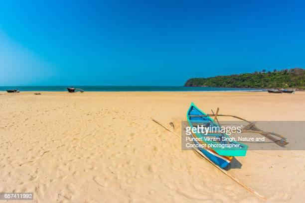 agonda beach - goa stock photos and pictures
