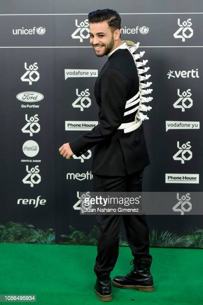 Agony attends during 'LOS40 Music Awards' 2018 at WiZink Center on November 2 2018 in Madrid Spain