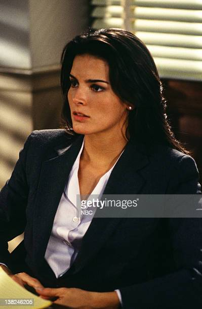 LAW ORDER 'Agony' Episode 5 Air Date Pictured Angie Harmon as ADA Abbie Carmichael