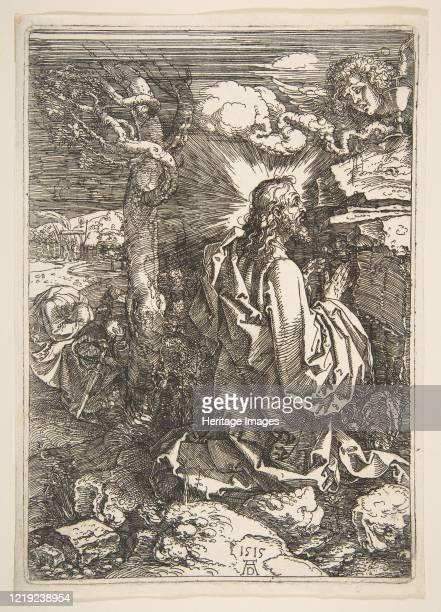 Agony in the Garden 1515 Artist Albrecht Durer