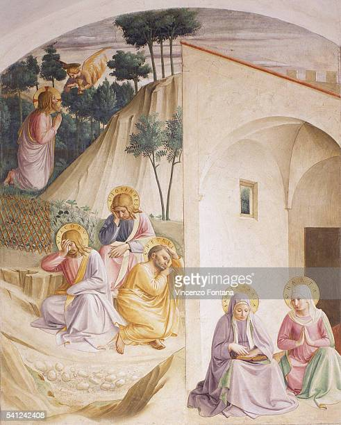 Agony in the Garden by Fra Angelico and Workshop