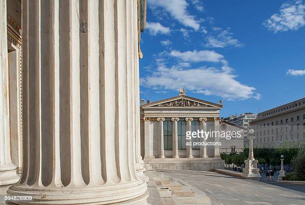 Agora buildings with pillars, Athens, Greece