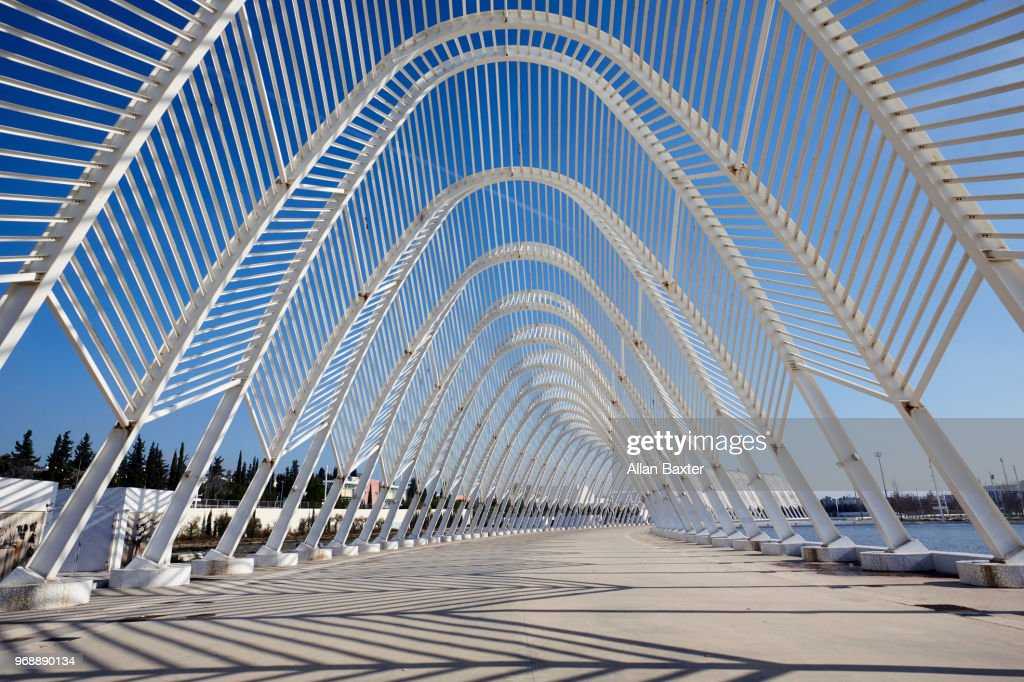 Agora of the 'Athens Olympic Sports Complex' : Stock Photo