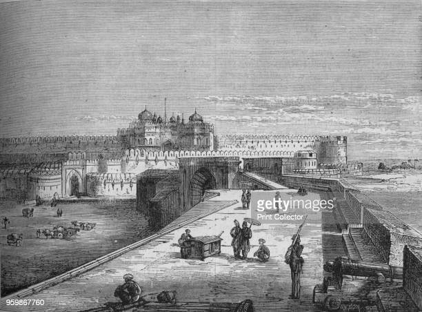 Agra', circa 1880. Episode of the Anglo-Persian War . From British Battles on Land and Sea, Vol. III, by James Grant. [Cassell Petter & Galpin,...
