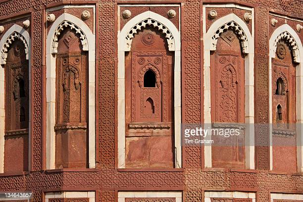 Agra Fort the Jahangir Mahal zenana palace residence of Rajput wives of Mughal Emperor Akbar