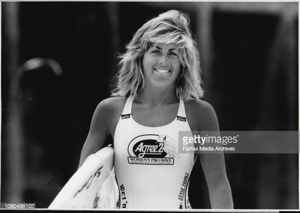 Agree 2 Womens Pro Wave 2 At Maroubra Beach Ranked 4th in Australia for women amature surfing Prudence Casey December 5 1986