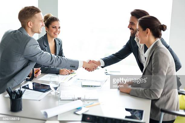 agreement - bridging the gap stock photos and pictures
