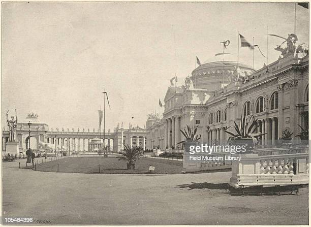 Agricultural Building World's Columbian Exposition Chicago Illinois 1896