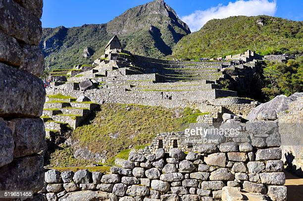 "agricultural sector and machu picchu mountain - ""markus daniel"" stock pictures, royalty-free photos & images"
