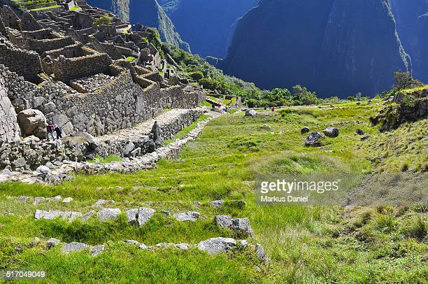 Agricultural sector and moat at Machu Picchu