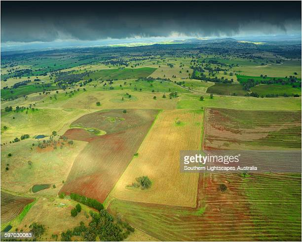 Agriculture aerial view