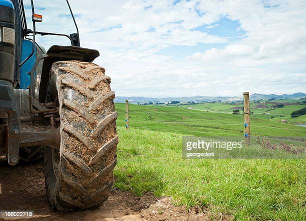 agriculture backdrop - tractor stock pictures, royalty-free photos & images