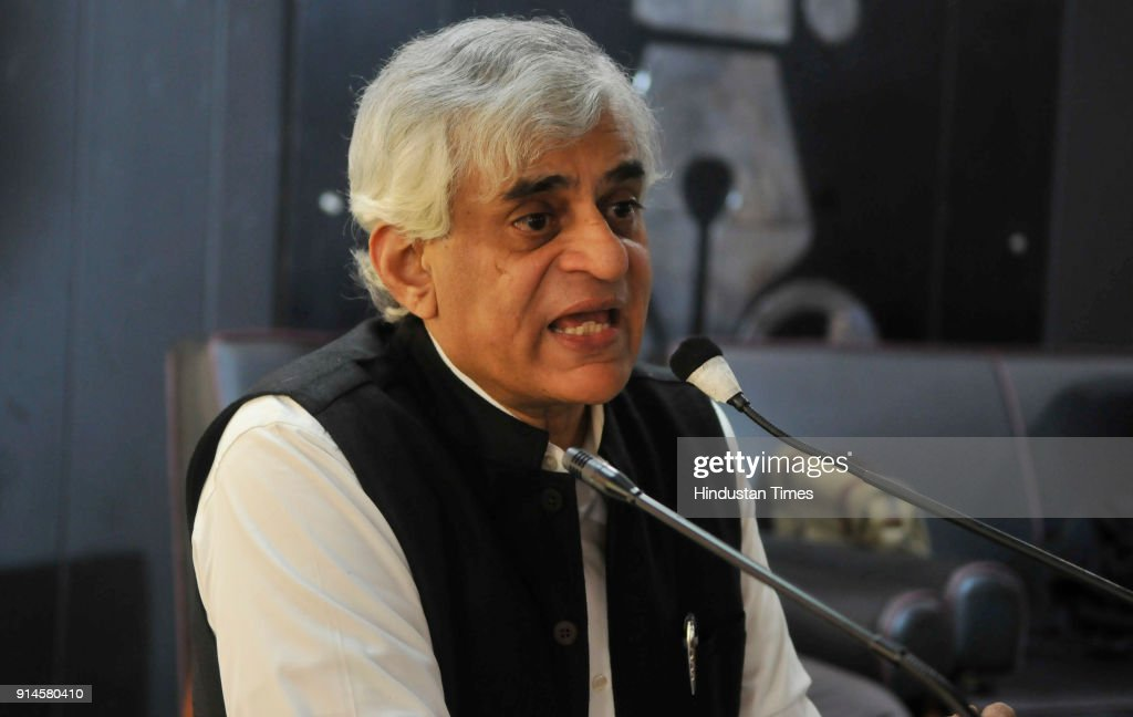 Agriculture expert P Sainath renowned Journalist and Columnist interaction with media at press club on February 5 2018 in Chandigarh India