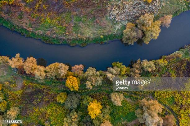 agriculture land drone view - hungary stock pictures, royalty-free photos & images