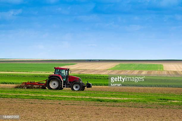 agriculture - tractor stock pictures, royalty-free photos & images