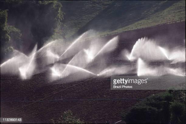 Agriculture sprinkler irrigation at small land