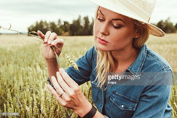 Landwirtschaft Arbeiter betrachten
