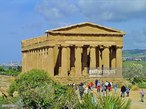 Agrigent ConcordiaTempel Sizilien