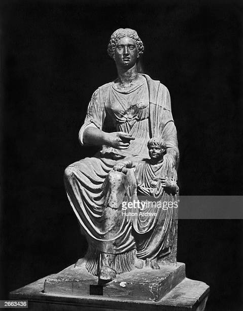 Agrippina the Younger daughter of Germanicus and mother of Emperor Nero circa 40AD