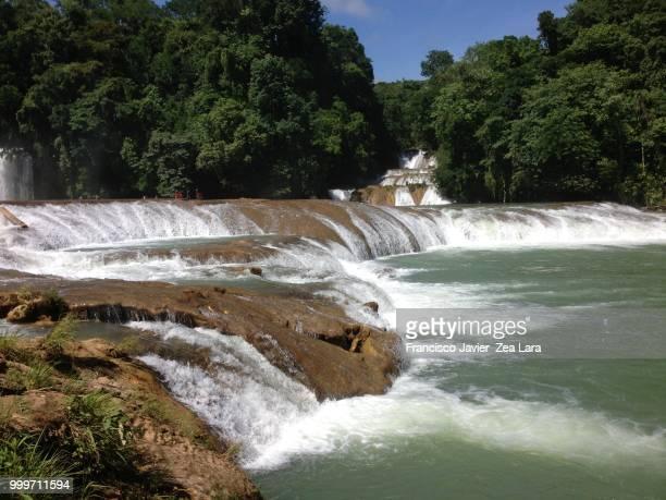 Agua Azul, beautiful waterfall