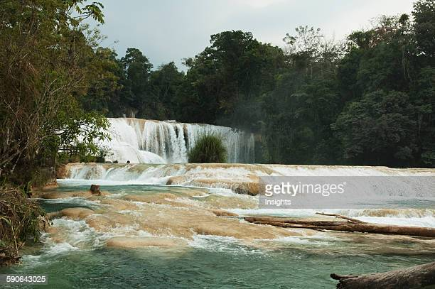 Agua Azul Waterfall Chiapas Mexico