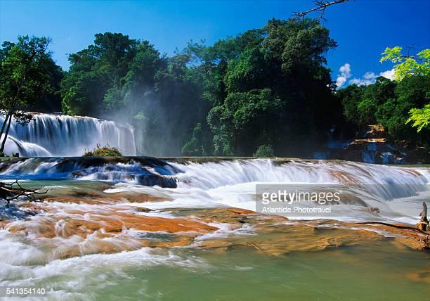 Agua Azul Waterfalls in Chiapas