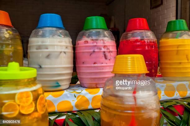 Aguas frescas, fruit juices