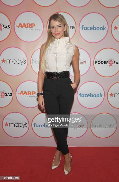 Agueda Lopez arrives at the People en Espanol's 25 Most Powerful Women Luncheon 2018 on March 16 2018 in Miami Florida