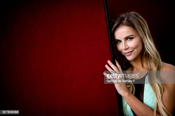 Agueda Lopez poses during a portrait session in Madrid on March 3 2018 in Madrid Spain