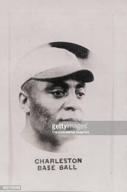 Aguilitas-brand cigarette card features Negro League player Oscar Charleston, Havana, Cuba, 1925.