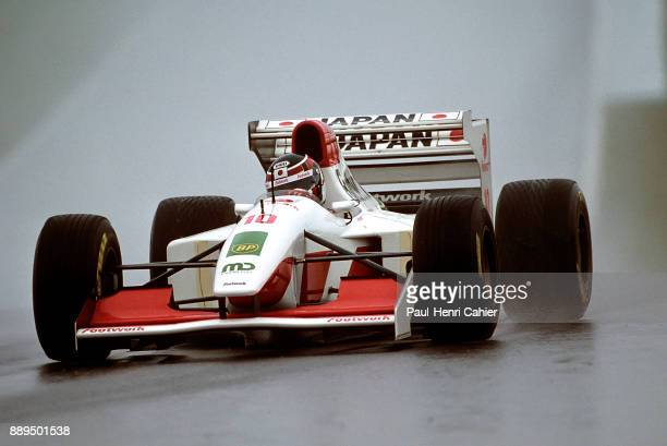 Aguri Suzuki FootworkMugenHonda FA14 Grand Prix of Japan Suzuka Circuit 24 October 1993