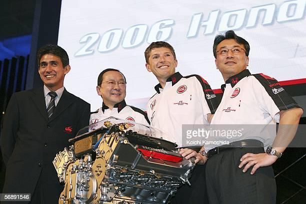 Aguri Suzuki Team Principal of Super Aguri Formula 1 Yasuhiro Wada Executive Advisor of Honda Racing F1 Team Nick Fry of Chief Executive Office of...