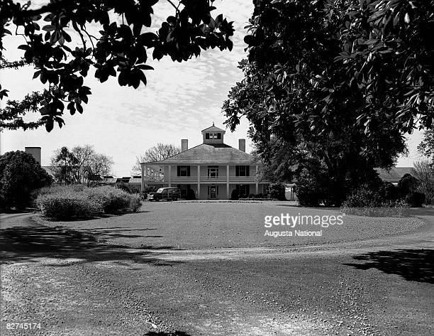 Agusta National club house during 1949 at Augusta National Golf Club in Augusta Georgia