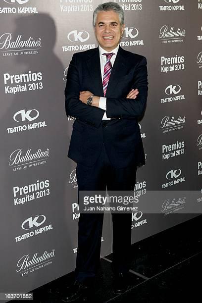 Agustin Bravo attends the XI Teatro Kapital Awards at Teatro Kapital on March 14 2013 in Madrid Spain