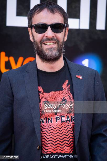 Agustin Martinez attends the 'La Caza Monteperdido' photocall on March 22 2019 in Madrid Spain
