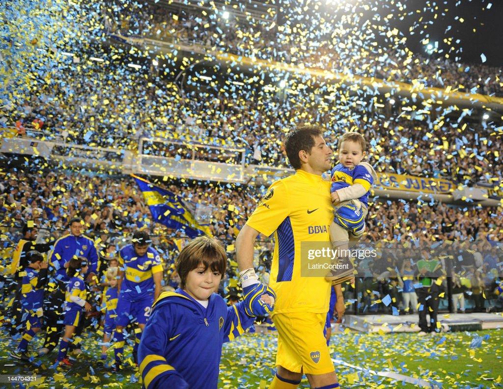 Boca v Fluminenese - Copa Libertadores 2012