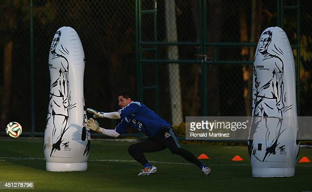 Agustin Orion of Argentina during a training session at Cidade do Galo on June 26 2014 in Vespasiano Brazil