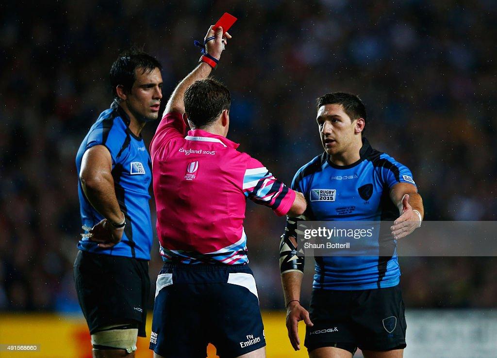 Fiji v Uruguay - Group A: Rugby World Cup 2015 : News Photo