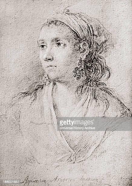 Agustina Raimunda Maria Saragossa I Domenech Aka Agustina De Aragon 1786 – 1857 Spanish Heroine In The Siege Of ZaragozaDuring The Spanish War Of...