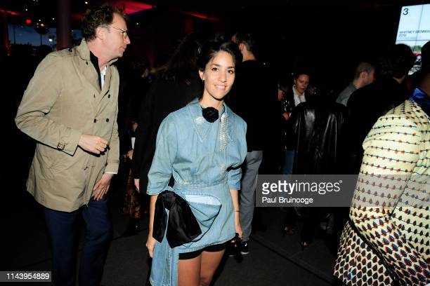 Agustina Woodgate attends Whitney Biennial 2019 Opening Reception at The Whitney Museum of American Art NYC on May 14 2019 in New York City