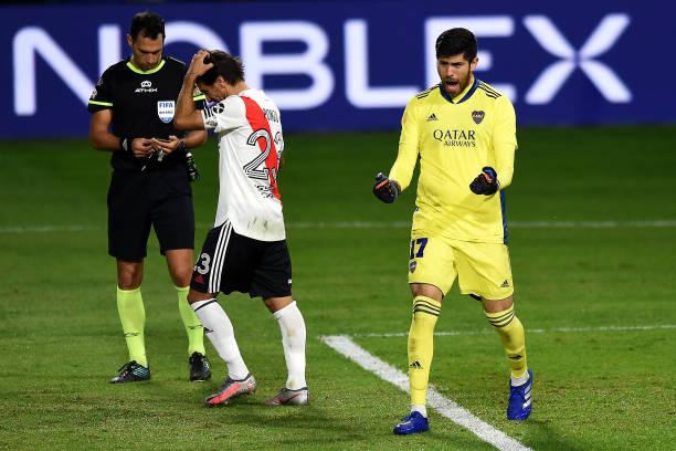 ARG: Boca Juniors v River Plate - Copa De La Liga Profesional 2021