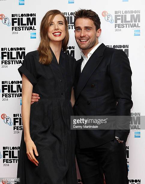 """Agyness Deyn and Christian Cooke attends a screening of """"Electricity"""" during the 58th BFI London Film Festival at Vue West End on October 14, 2014 in..."""