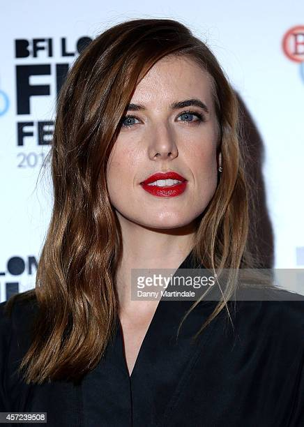 """Agyness Deyn attends a screening of """"Electricity"""" during the 58th BFI London Film Festival at Vue West End on October 14, 2014 in London, England."""