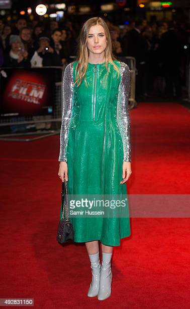 Agyness Deyn attends a screening of Sunset Song during the BFI London Film Festival at Vue West End on October 15 2015 in London England