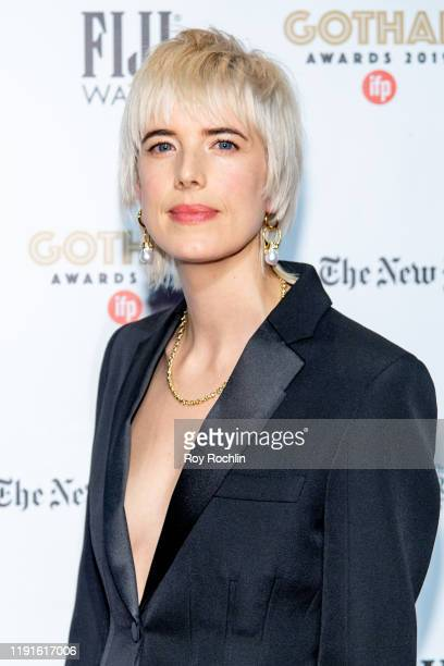 Agyness Deyn attends the 2019 IFP Gotham Awards at Cipriani Wall Street on December 02, 2019 in New York City.