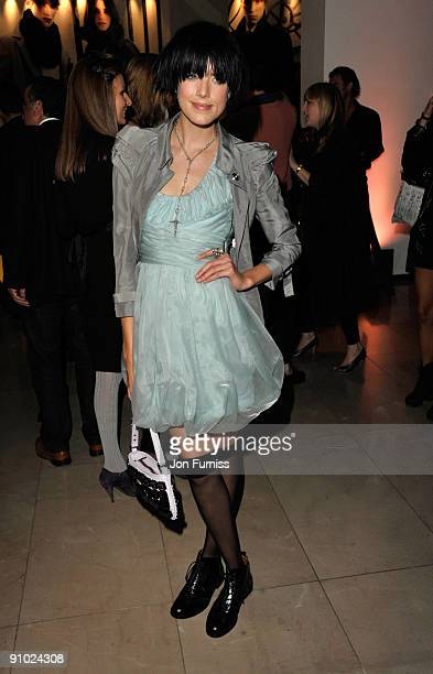 Agyness Deyn attends the Burberry after party during London Fashion Week Spring Summer 2010 on September 22, 2009 in London, United Kingdom.