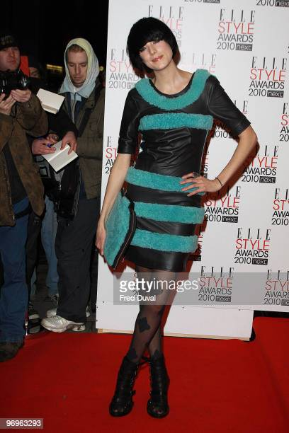 Agyness Deyn attends the ELLE Style Awards at Grand Connaught Rooms on February 22, 2010 in London, England.